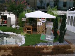 Giardino dismostrativo - Rassegna Artigianato del Pinerolese